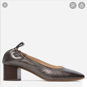 Everlane The Day Heel, Metallic